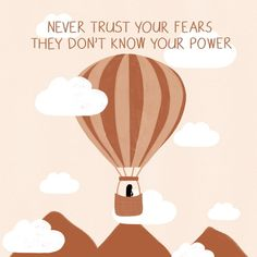 """Lou on Instagram: """"'Never trust your fears. They don't know your power.' Prints and other products available via link in bio!"""" Never Trust, Artist Names, Trust Yourself, Knowing You, Facts, Prints, Yoga, Illustrations, Facebook"""
