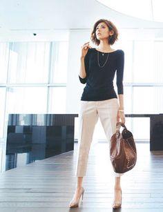 Oggiで紹介、仕事で着こなす夏ファッション Select15 Part2 女子力アップコーデ - NAVER まとめ
