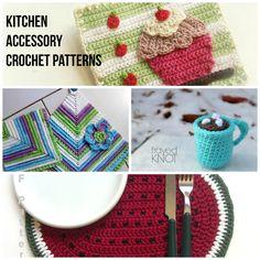 Kitchen Accessory Crochet Patterns