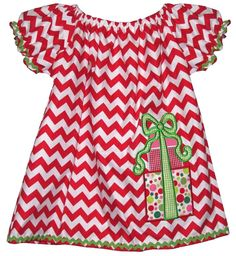 GIRL'S CUSTOM CHRISTMAS Dress or Dress with by ChildrensCottage, $51.00