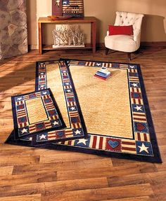 63 X 90 Whimsical Country Hearts And Stars Area Rug Shabby Chic Home Accent Decor Knl Http Www Dp B00m38rk96 Ref Cm Sw R Pi D