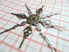 Steampunk Christmas Ornament  Steampunk by AmberIlysSteamcrafts, $6.00