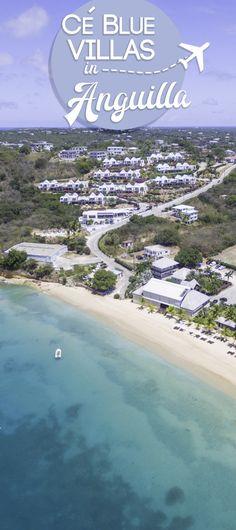 CeBlue Anguilla villas are luxury villas overlooking Crocus Bay. Each 5 bedroom villa is massive with epic views. Anguilla is the Caribbean's best-kept secret.  via @gettingstamped