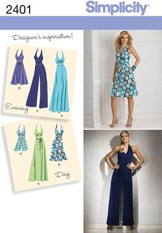 2401 Misses Special Occasion Dresses
