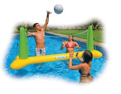 "Intex Pool Volleyball Water Game Inflatable Ball Fun 94"" X 25"" X 36""  56508EP  #Intex"