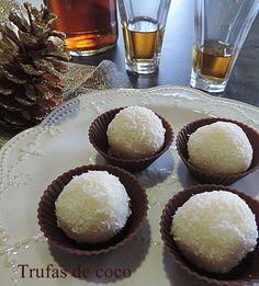 Trufas de coco | Cocina