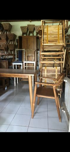 teak table and chairs made in bali for a fraction of the cost
