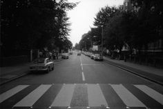 Abbey Road, taken on the morning of The Beatles' album cover shoot, 8 August 1969 - http://2ba.by/1d4x5