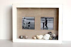 porta retrato de conchas do mar atras do vidro - Pesquisa Google