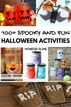 This huge collection of 100+ Super Fun Halloween Activities for Kids is a MUST-READ for any mom with a Halloween-loving kiddo!