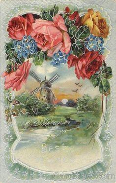 Gallery.ru / Фото #28 - Винтажные открытки - yartseva