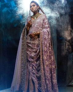 We absolutely love Saira Shakira's bespoke bridal collection, showcasing an ethereal range of colours enhanced with intricate 3D florals. Campaign shot by Abdullah Harris featuring Zara Abid  #sairashakira#bridal#2016#abdullahharis#pakistan#pakistanvogue