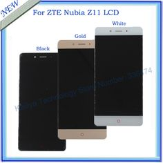 >> Click to Buy << LCD Display For ZTE Nubia Z11 + 5.5 Inch Touch Screen Digitizer Assembly For ZTE Nubia Z11 Mobile Phone LCDs Black White Gold #Affiliate
