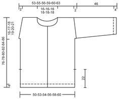 """Veste DROPS avec faux raglan, fentes côtés et point texturé, en """"Air"""". Du S au XXXL."""