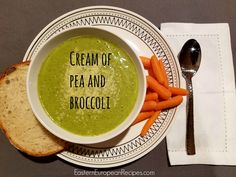 That receipe for peas and broccoli soup has only advantages- it takes only 20…
