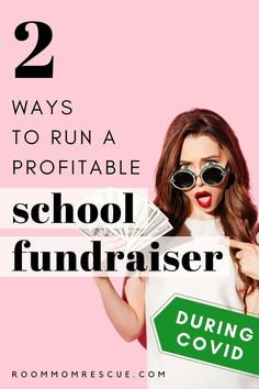 School fundraising during COVID is possible! Use these 2 websites to create lucrative PTA fundraising ideas for elementary, high school and middle school. Taking your elementary school fundraiser online can make raising money for your school, PTA or PTO easy and fun. Learn more at roommomrescue.com #schoolfundraiser #schoolfundraising #virtualfundraiser #virtualfundraising