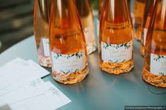 Wedding favor ideas - custom wine, rose, thank you, bottles {Carolyn Jorgensen Photography} Wedding Welcome Bags, Wedding Favors, Wedding Invitations, Wine Rose, Floral Watercolor, Watercolor Wedding, Summer Wedding, Real Weddings, Bottles