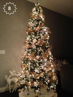 è tempo di preparare l'albero di Natale! Chi non ama vedere le case riempirsi di lucine? Ecco una web inspiration per questo magico momento  #waitingforchristmas