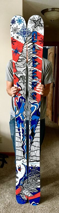 Ski Graphics for Pro Skier Owen Leeper