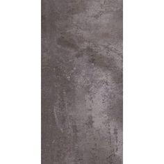 Trafficmaster ceramica 12 in x 24 in roman travertine for Industrial stone vinyl tile