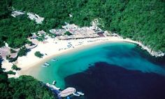 Playa La Entrega is one of the many beaches of Huatulco Mexico