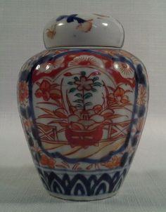 Vintage imari lidded jar via eBay Collectibles, Cultures & Ethnicities, Asian