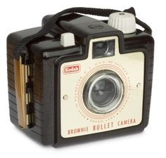 Kodak Brownie camera... old.