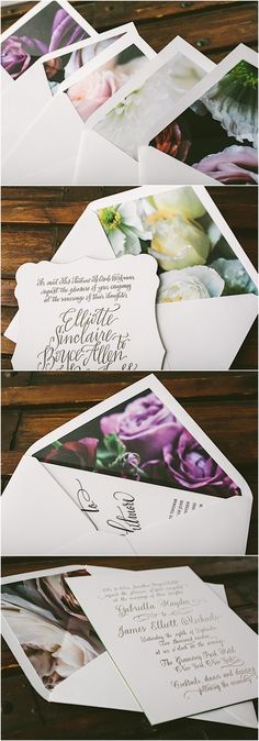 Gorgeous new Flora Collection from wedding stationery brand Bella Figura