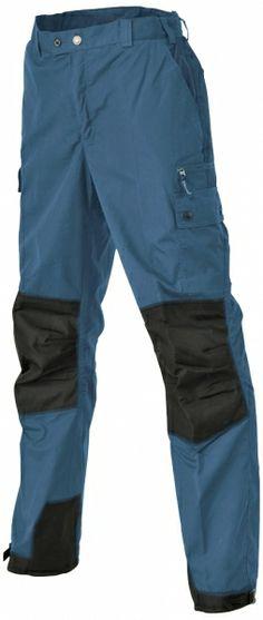 Fede fritidsbukser til børnene - fås også i rød. Pinewood børne outdoor / fritidsbukser, blå (9985-4) - Fritidstøj - BILLIG-ARBEJDSTØJ.DK