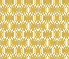 bamboo honeycomb fabric by amybethunephotography for sale on Spoonflower - custom fabric, wallpaper and wall decals