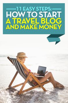 A step by step through how to start a travel blog and make money. follow the Quick 3-Step Setup Guide  and you can have your basic travel blog up and running in just a few hours.  After that explore the 8 advanced steps that you need to think about to make an impact, and earn an income from your travel blog.