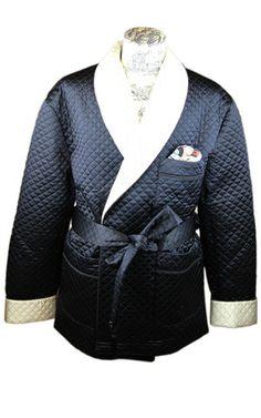 Breton Smoking Jacket – Le Noeud Papillon Of Sydney | Specialists In Self Tying Luxury Silk Bow Ties Made In Sydney, Australia