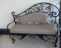 Кованая скамейка №69