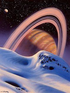Snowdrift by AlanGutierrezArt on DeviantArt Science Fiction Art, Science Art, Science And Nature, Futurism Art, Retro Futurism, Fantasy Landscape, Fantasy Art, Alien Worlds, Fantasy Places