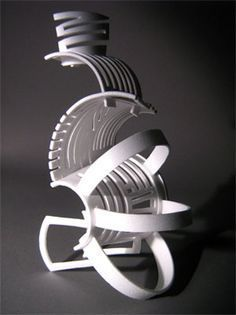 styrofoam cup - get students to build forms using only a stryofoam cup - look at Alexander calder yr 9-10