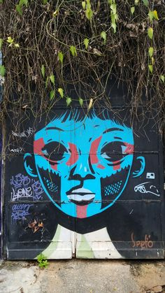 Amazing Street Art & Graffiti in São Paulo, Brasil. This is from the Vila Madalena neighborhood...what a stunning, artistic, city region.  (Beco do Batman is in the Vila Madalena region) Original photography by R. Stowe