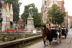 Most Romantic Thing To Do: Take A Carriage Ride, Bruges | The 10 Most Romantic Cities On Earth