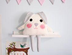 Kissen Kaninchen. von Karmelki-by-Ania auf DaWanda.com