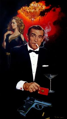 DR NO by Robert McGinnis #pulpfiction, # crime novels # book covers, #art, #illustration, #drawing, #painting, #ink, #vintage #pulp fiction art #book illustration #pulp fiction #sketch #graphic #classic #vintage graphic novel #graphic novel #design #print #fashion #ad, #graphicnovel #sketch #movie #movie illustration, #movie poster