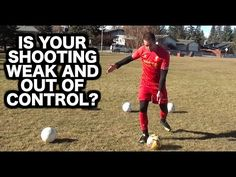 Weak shots getting saved by the keeper? Missing the target too often? Understand and improve your shooting technique: https://www.youtube.com/watch?v=9t5I1MR0Vas