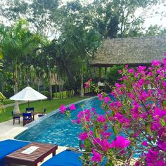 Belize. The Lodge at Chaa Creek.