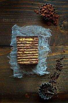 ciasto_czekoladowo_pomarańczowe Traditional Cakes, Cake Recipes, Meat, Cooking, Food, Sweets, Vase, Kitchen, Easy Cake Recipes