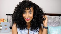 Wand Curls Tutorial ft. Curl Genetics [Video]  Read the article here - http://www.blackhairinformation.com/video-gallery/wand-curls-tutorial-ft-curl-genetics-video/