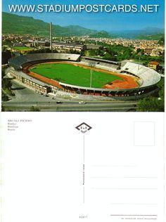 € 1,50 - code : ITA-002 - Ascoli - Del Duca - stadium postcard cartolina stadio carte stade estadio tarjeta postal