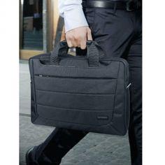 Promate Horizon.hb Легкая сумка дя переноски ноутбуков с диагонаью менее 15,6 дюймов и встроенным карманом для планшета