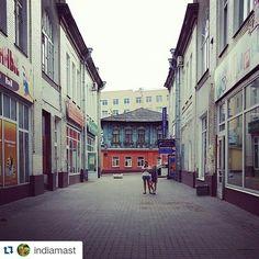 """#Repost @indiamast ・・・ #Иваново #Аптечныйпереулок"""