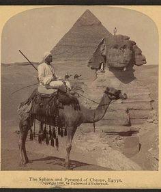Sphinx in 1906 !!    www.egyholiday.com