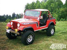 Jeep CJ7 Renegade Interior #224