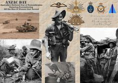 Another wall paper tribute on ANZAC Day