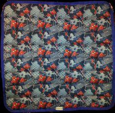 Spider man Western saddle pad measures 32X32